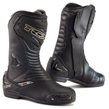 TCX S-Sportour Evo Waterproof Motorcycle CE Approved Boots - Black